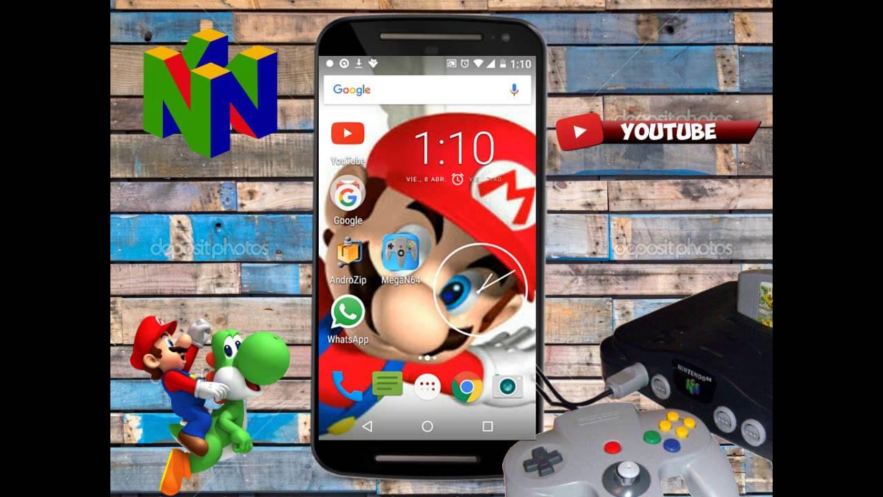 juegos emulador nintendo 64 para android