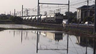 【EF65】高崎線貨物列車  吹上-北鴻巣③【EH200】