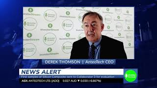InvestorStream sits down with AnteoTech CEO - Derek Thomson (January 29, 2020)
