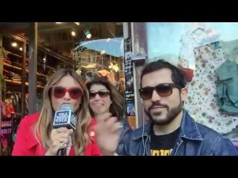Elda Alvigini canta Raffaella Carrà al Karaoke Rock Bike di Radio Rock