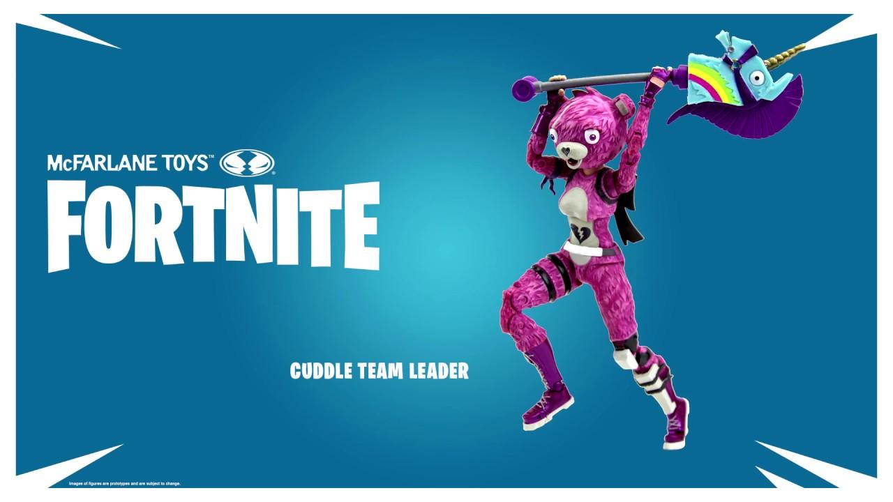 New Fortnite Figures By Mcfarlane Toys Cuddle Team Leader Raptor