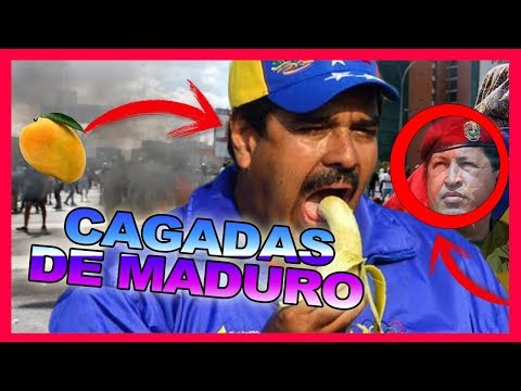 TOP 10 CAGADAS (BURRADAS) DE NICOLAS MADURO