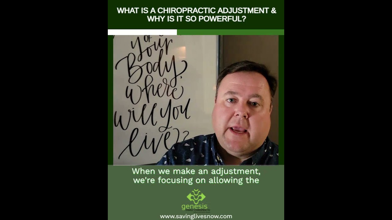 What Is A Chiropractic Adjustment & Why Is It So Powerful?