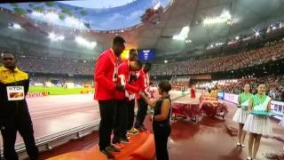 Usain 11 King Bolt relay Gold medal for Jamaica