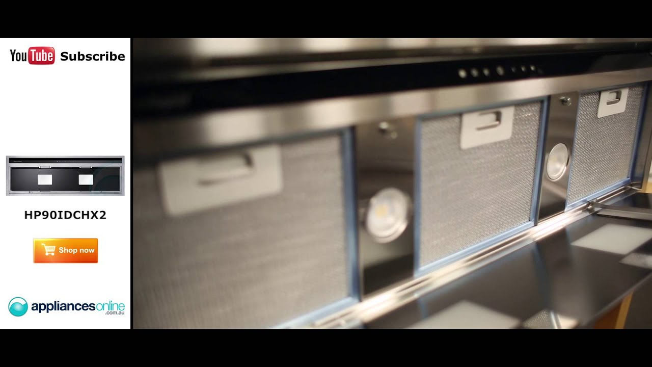 Lookup A Number >> Fisher & Paykel Under Cupboard Rangehood HP90IDCHX2 Reviewed by product expert - Appliances ...