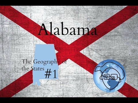 Alabama: The Geography of the US States