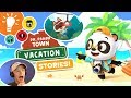 Dr. Panda Town Vacation BRAND NEW GAME - STORIES! - Gameplay