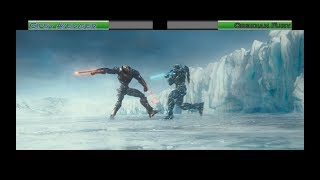 Gipsy Avenger vs Obsidian Fury...with healthbars