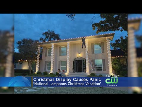 Brady - Man Recreates 'Christmas Vacation' Lights. Neighbors Not Pleased