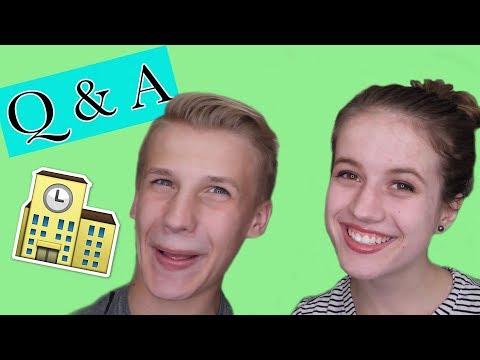 SCHOOL Q&A W/ CHAD