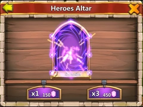 Castle Clash Strategy 44: Properly Consuming Druid - Rolling Cupid With 24000 Gems - Distaggio