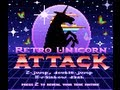 Retro Unicorn Attack - Free Online Game from Adult Swim