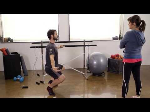 Barre Workouts / Stretching with Wooch & Tiffani Thiessen - All ...