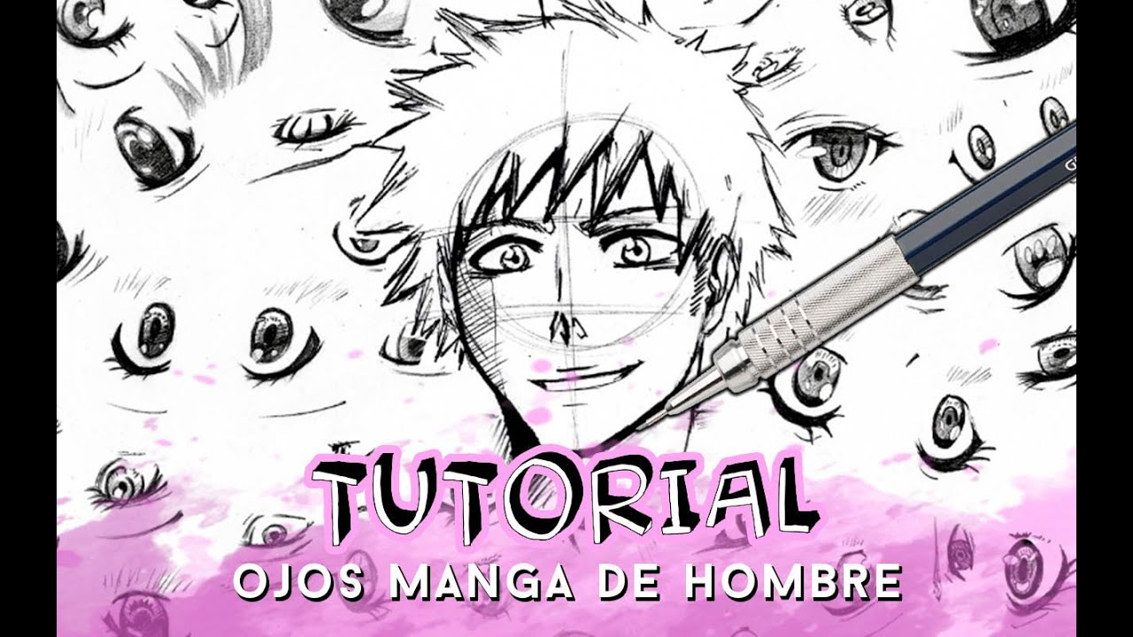 Como Dibujar Ojos Anime Manga Paso A Paso Hombre Why So Gurin
