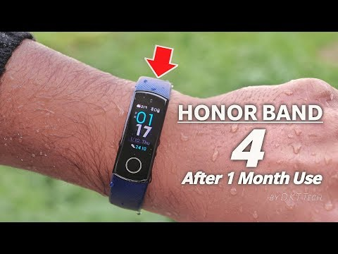 Honor band 4 full In-Depth Review | Best Budget Smart Band/Watch ?