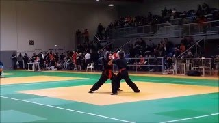 Kung Fu Wushu traditionnel Lyon - Coupe Régionale 2016 - Taolu 蔡李佛