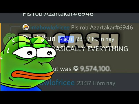HOW TO BE A PRO AT ROBBING IN DANK MEMER..MAKE EZ CASH!