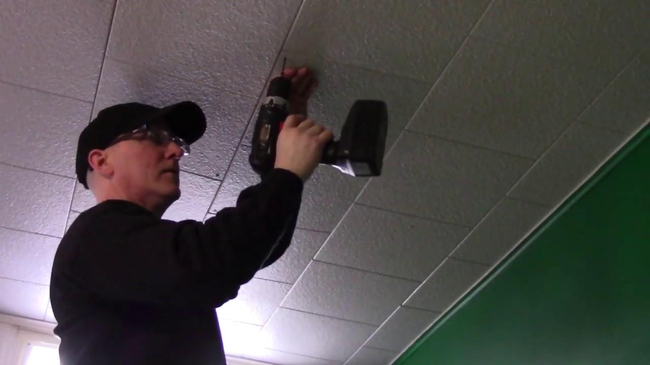 Fix Sagging Ceiling Tiles Easy Peasy