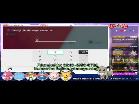 EASTER STAR BABY EVENT DEN 64 - Pokémon Sword & Shield - 24/7 LIVE HOSTING from YouTube · Duration:  11 hours 54 minutes 59 seconds