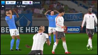 Global Challenge cup semi final Nepoli vs Real Madrid Dream League Soccer 2018 Android Gameplay #108