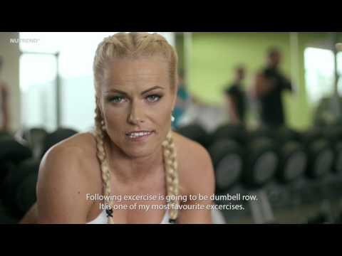 NUTREND Eva Havelkova workout zada bricho