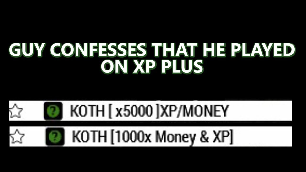 Guy confesses that he played on xp plus | Arma 3 KOTH