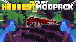 I Played Minecraft's Hardest Mod Pack Without Any Help (RL Craft)