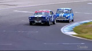 2014 Australian Muscle Car Masters - Mini vs Mustang