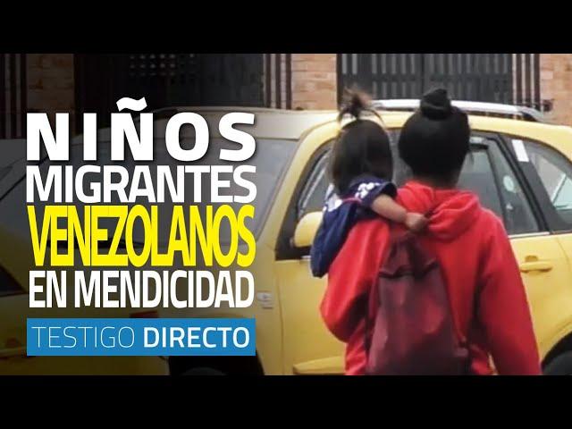Niños migrantes venezolanos: mendicidad que hay que erradicar - Testigo Directo HD