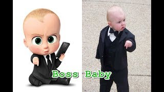 The Boss Baby In Real Life 2018 - All Characters - OMG Kids