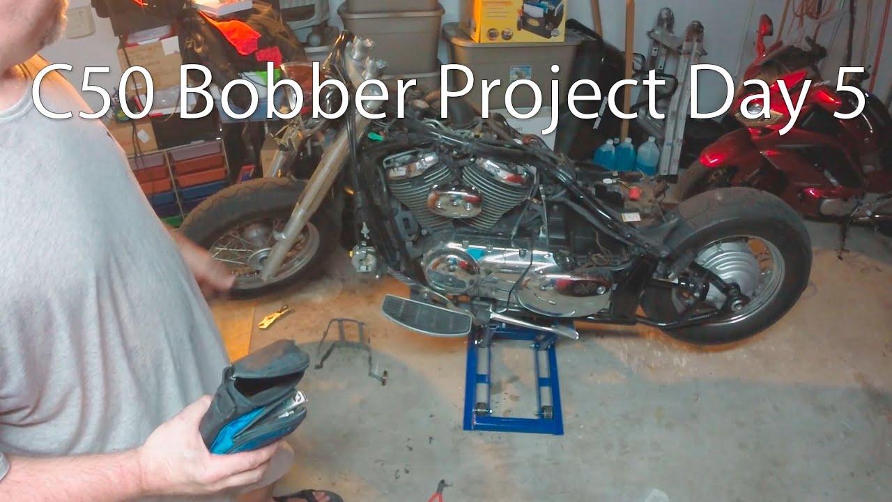 C50 Bobber Project | Cardbk co