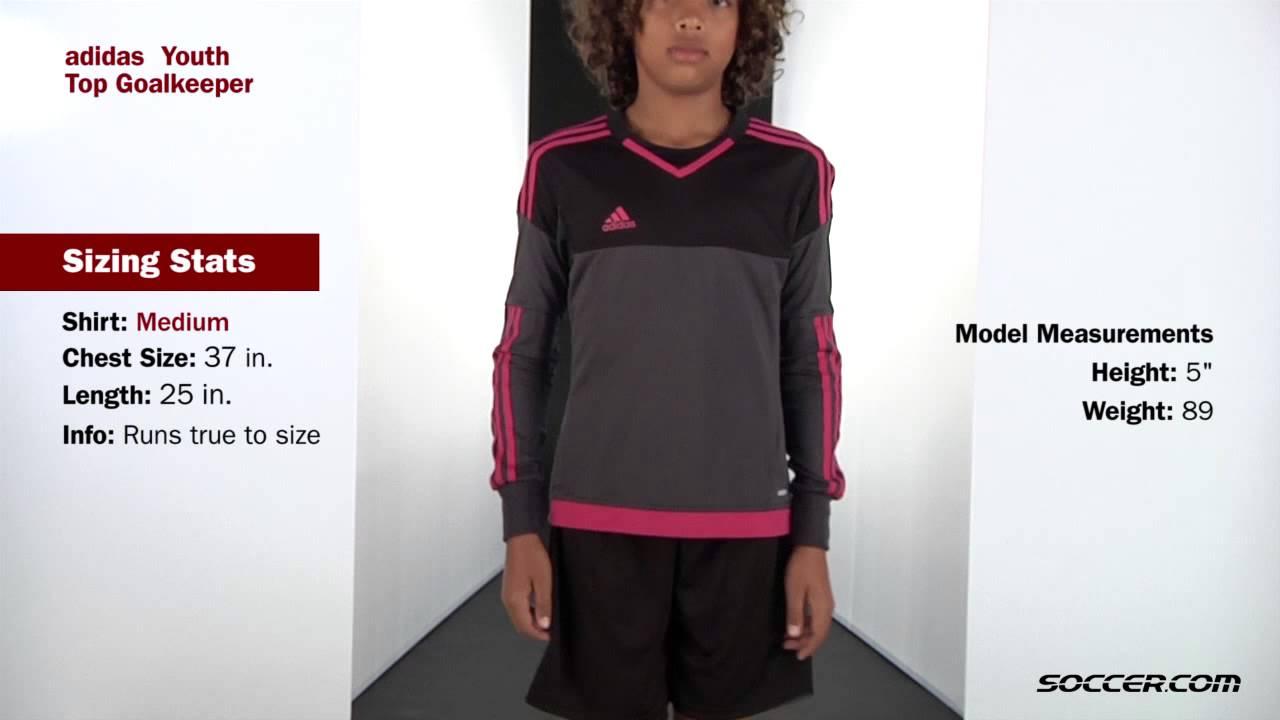 759e81b215e adidas Top Goalkeeper Jersey - YouTube