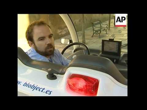 The latest Cordoba tour guide - an Electric car