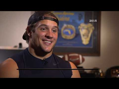 Nick Bosa, Ohio State Defensive Lineman - Sports Stars of Tomorrow NFL Draft Preview