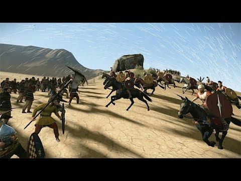 6000 Archers vs 300 Praetorian Guards Rome 2 Total War letöltés