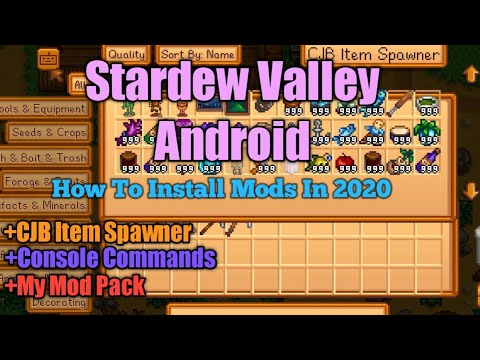 StarDew Valley Mobile Mods For Android | How To Install Mod In 2020