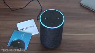 Amazon Echo (2. Gen) - einrichten