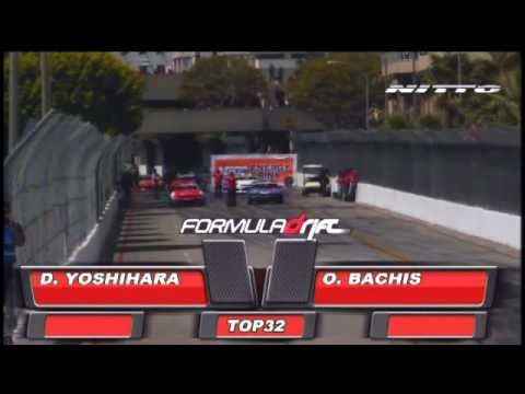 DAIJIRO YOSHIHARA VS AURIMAS BAKCHIS  IN FORMULA DRIFT ROUND 1 LONG BEACH CALIFORNIA 2011 TOP 32