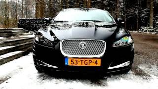 Jaguar XF 2.2D Review - Hartvoorautos.nl - English Subtitled