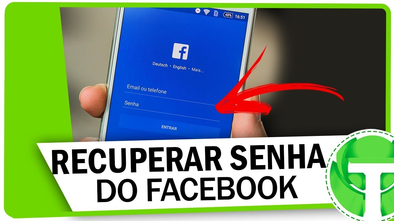 Como Recuperar Senha Do Facebook Pelo Celular Atualizado Youtube
