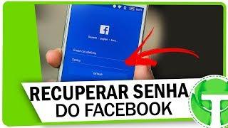 Como RECUPERAR SENHA do Facebook pelo celular - Atualizado!