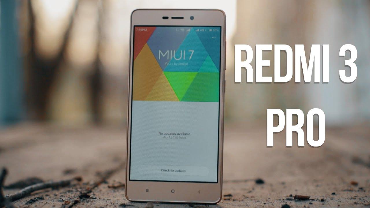 XiaoMI Redmi 3 Pro 3/32Gb полный качественный обзор.Отзыв от .