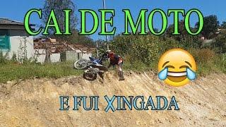 CAÍ DE MOTO E FUI XINGADA I Moto Vlog Lulu Animais