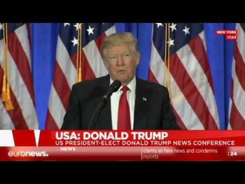 [LIVE] Donald Trump addresses the American press at news conf.
