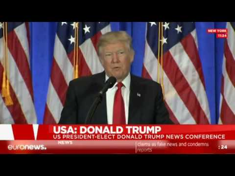 [LIVE] Donald Trump addresses the American press at news conf.