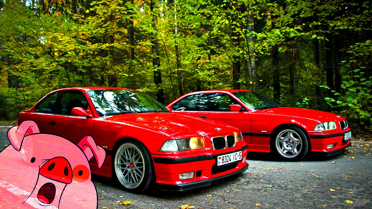 Bmw E36 Red Auto Love Youtube