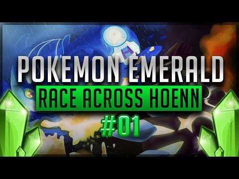"""Pokemon Race Across Hoenn Episode 1 - """"ITS BACK!"""" [Pokemon Emerald Nuzlocke Versus]"""