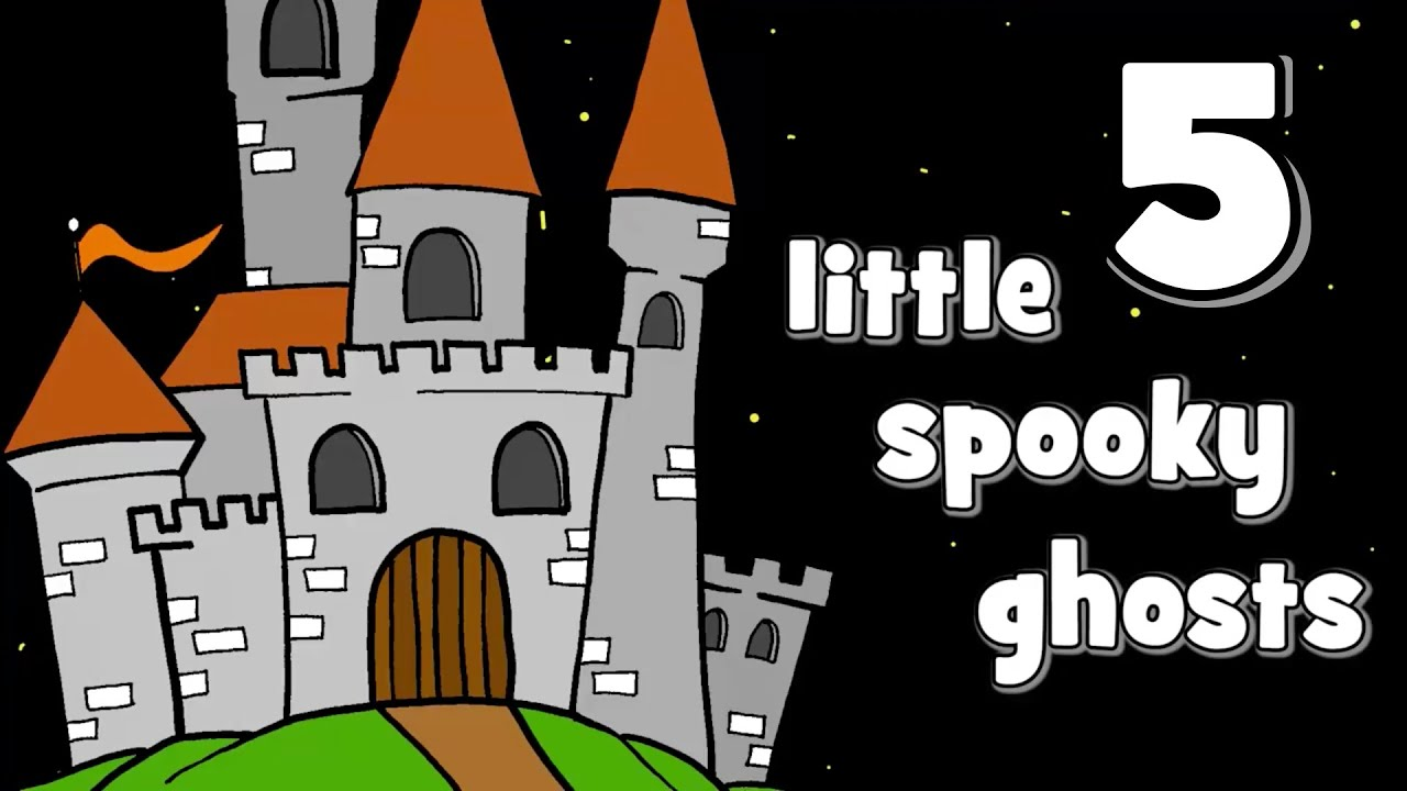 five little spooky ghosts halloween songs for kids youtube - Halloween Youtube Kids