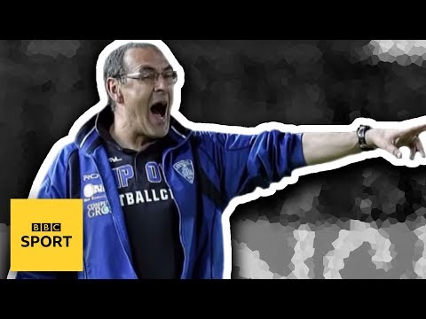 The story of Maurizio Sarri: From Tuscany to Chelsea, banker to coach - BBC Sport