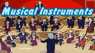 Musical Instruments of the Orchestra, Learn Sounds, Interesting & Educational Videos for Kids